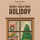 Free Download Christmas Holiday Flyer Nulled
