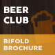 Beer Club or Pub Bifold / Halffold Menu - GraphicRiver Item for Sale
