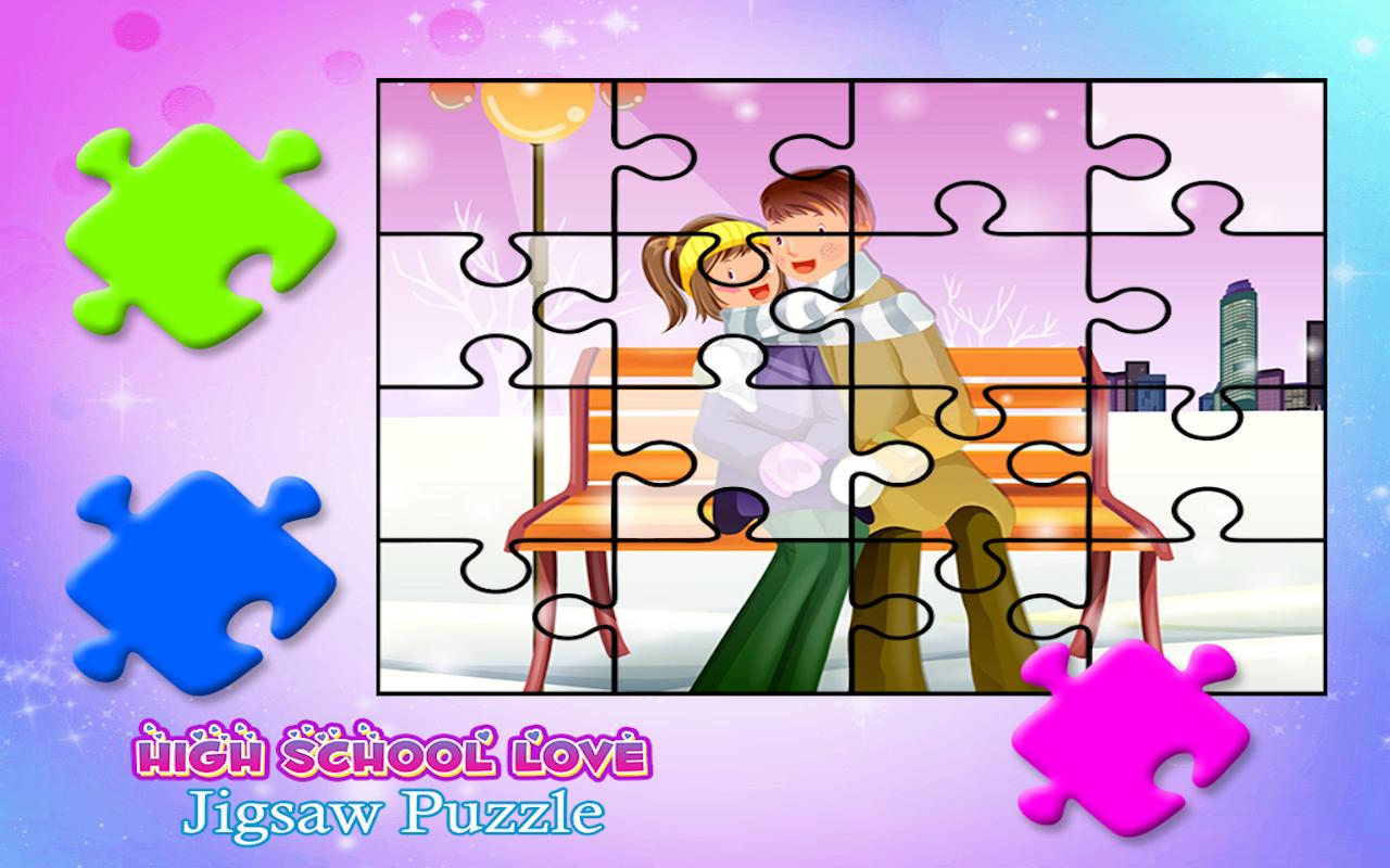 Valentine Love Secret Story First Crush Jigsaw Puzzle Game