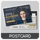 Free Download Conference Postcard Template Nulled