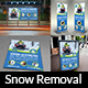 Snow Removal Service Advertising Bundle - GraphicRiver Item for Sale