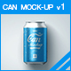 Can Mock-up v1 - GraphicRiver Item for Sale