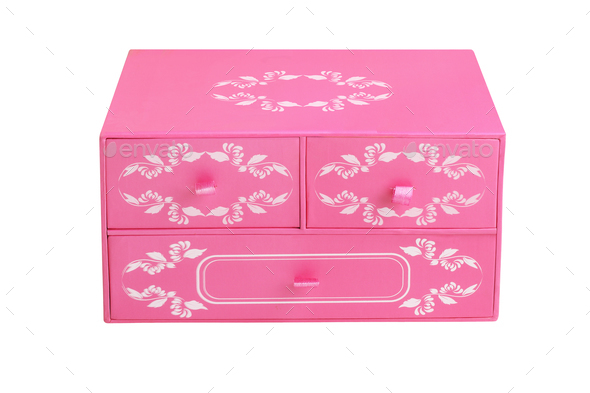 Chinese Floral Chest Box - Stock Photo - Images