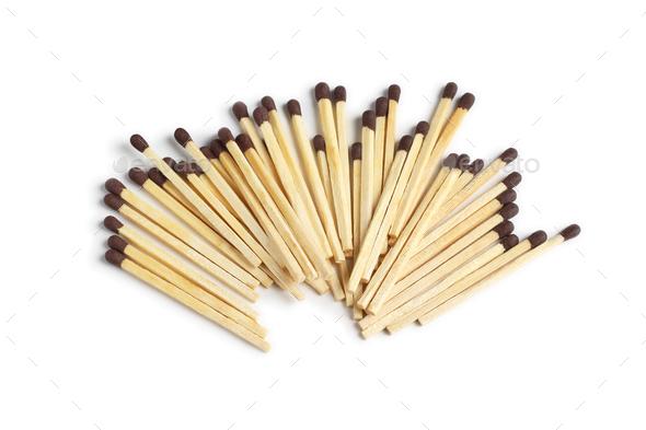 Safety Match Sticks - Stock Photo - Images