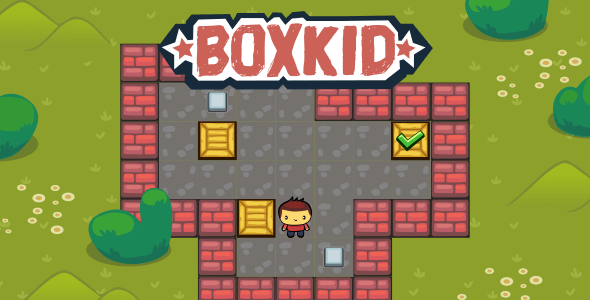 BoxKid - HTML5 Puzzle Game - CodeCanyon Item for Sale