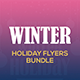 Winter Holiday Flyers Bundle - GraphicRiver Item for Sale