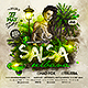 Latin Night Salsa Urbana Party Flyer - GraphicRiver Item for Sale