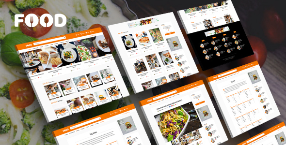 Tasty Food - Recipes & Food Blog WordPress Theme - Personal Blog / Magazine