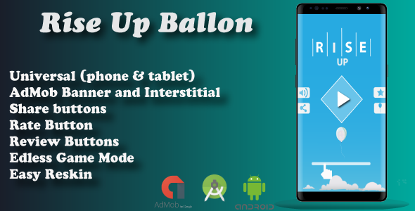 Rise Up Ballon ( Android Project + Eclipse + Admob + Bbdoc ) - CodeCanyon Item for Sale