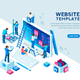 Project Team Office Web Template - GraphicRiver Item for Sale