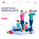 Strategy and Analysis Landing Page - GraphicRiver Item for Sale