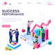 Success Concept Isometric Clip Art - GraphicRiver Item for Sale