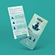 Free Download Yoga Rack Card | DL Flyer Template Nulled