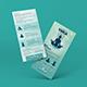 Yoga Rack Card | DL Flyer Template - GraphicRiver Item for Sale