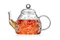Transparent teapot with ice tea - PhotoDune Item for Sale