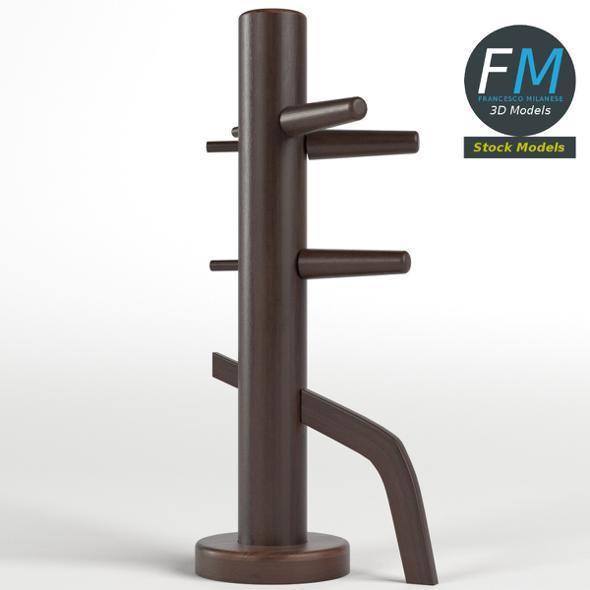 Martial arts wooden dummy - 3DOcean Item for Sale