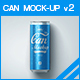 Can Mock-up v2 - GraphicRiver Item for Sale