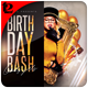 Free Download Birthday Bash Flyer Template Nulled