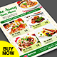 Restaurant Flyer - Food Menu Flyer - GraphicRiver Item for Sale