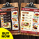 Free Download Restaurant Menu - Food Menu Flyer Nulled