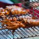 Grilled Squid Thai Street Food Night Market - PhotoDune Item for Sale