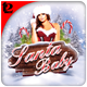 Santa Baby Flyer Template - GraphicRiver Item for Sale