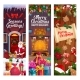 Christmas Winter Holiday, Decorations and Gifts - GraphicRiver Item for Sale