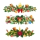 Winter Holidays Christmas Decorations, Vector - GraphicRiver Item for Sale
