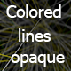 Colored lines opaque - 3DOcean Item for Sale