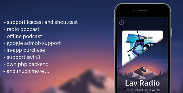 Ios Audiovideo App Templates From Codecanyon