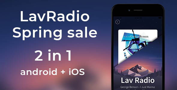 Lav Radio Bundle ( android & ios pack) - CodeCanyon Item for Sale