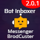 Messenger Broadcaster - A Bot Inboxer Add-on : Send Bulk Message to Facebook Messenger Subscribers - CodeCanyon Item for Sale