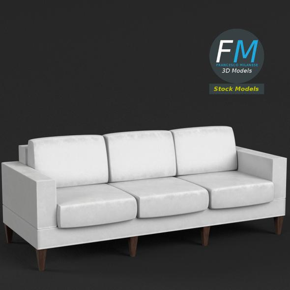 Couch Sofa 3 - 3DOcean Item for Sale