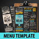 Bagel Sandwich Menu - GraphicRiver Item for Sale