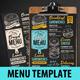 Bagel Sandwich Menu - GraphicRiver Item for Sale