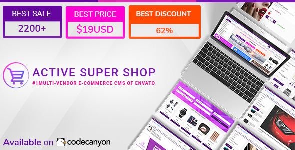 Active Super Shop Multi-vendor CMS Nulled