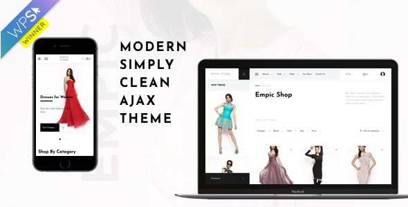 Empic - Ajax Powered Multi-Concept WooCommerce Theme