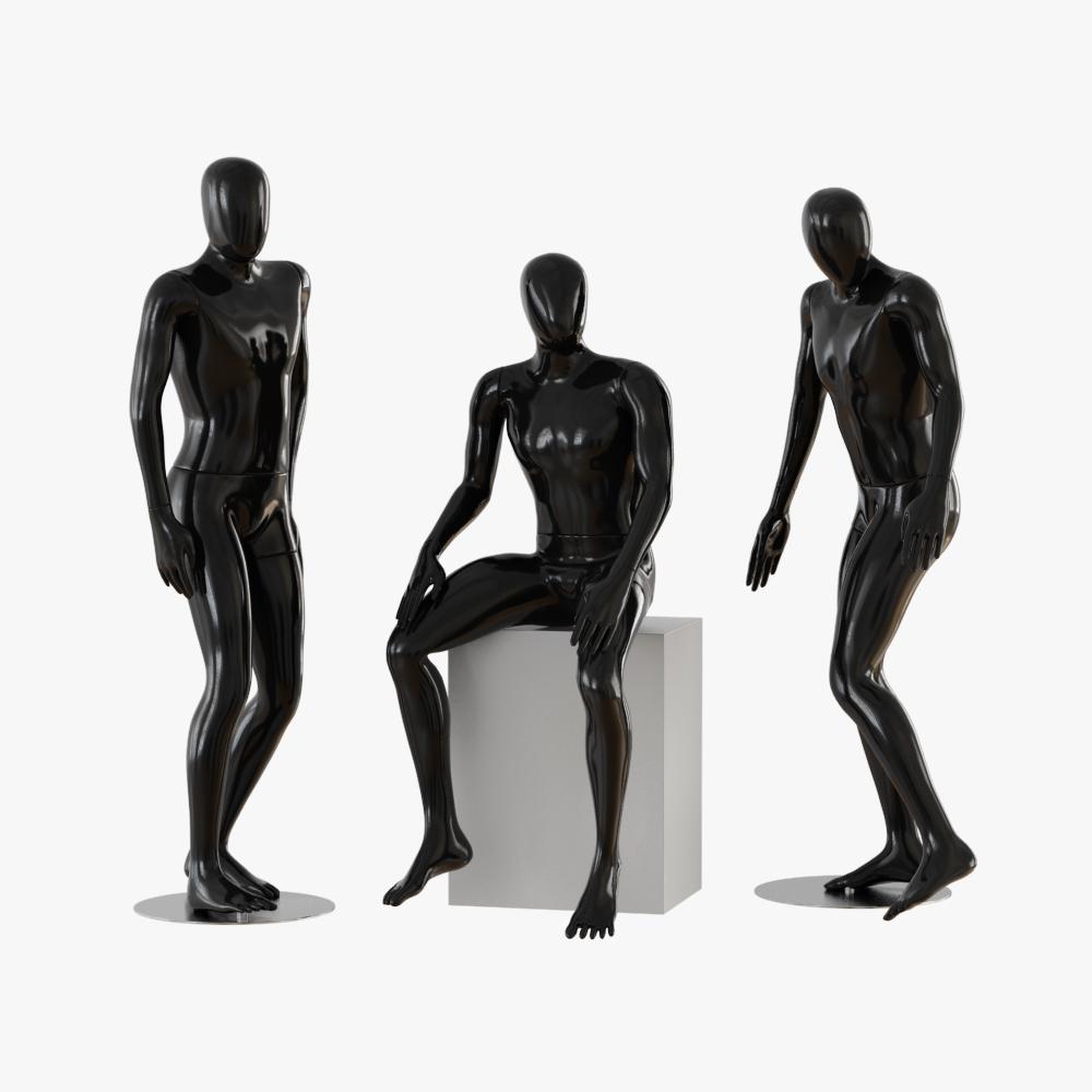 Black male mannequins 04