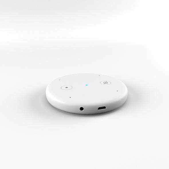 Amazon Echo Input White - 3DOcean Item for Sale