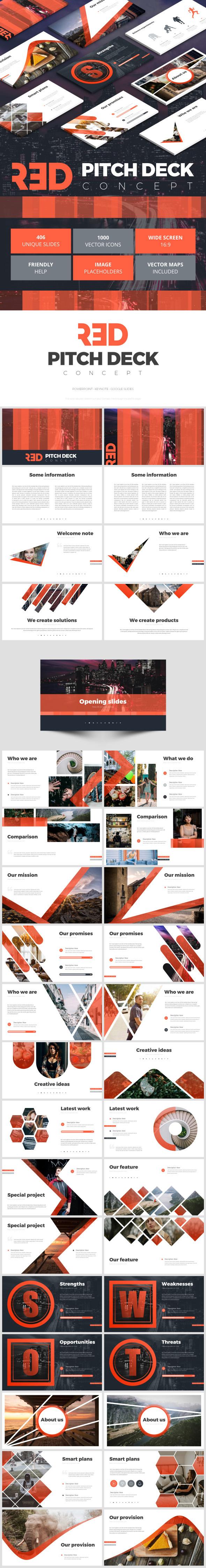 Pitch Deck Concept - Google Slides Presentation Templates