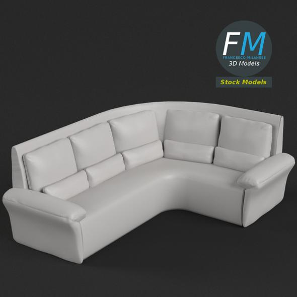 Couch Sofa 4 - 3DOcean Item for Sale