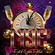 New Years Eve Party Flyer 3 - GraphicRiver Item for Sale