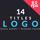 Logo Titles V2 - VideoHive Item for Sale