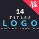 Logo Titles V2 - VideoHive Item for Sale