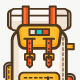 Backpacks for Hiking Icons - GraphicRiver Item for Sale