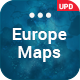 Europe Maps PowerPoint Presentation Template - GraphicRiver Item for Sale
