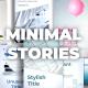 Minimal Instagram Stories - VideoHive Item for Sale