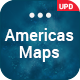 Americas Maps PowerPoint Presentation Template - GraphicRiver Item for Sale