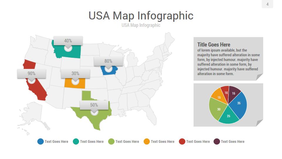 americas maps powerpoint presentation template by rojdark graphicriver