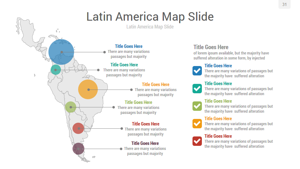 latin america powerpoint template